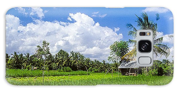 Lonely Rice Hut Galaxy Case