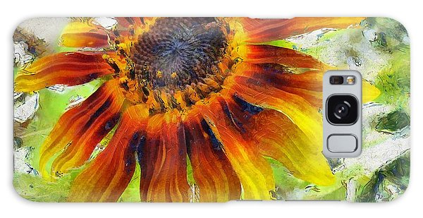 Lonely Sunflower Galaxy Case