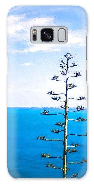 Strange Clouds Galaxy Case - Lonely Tree by Desislava Panteva