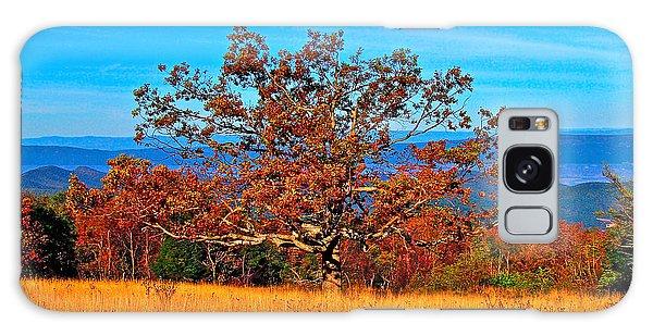 Lonely Tree Skyline Drive Va Galaxy Case