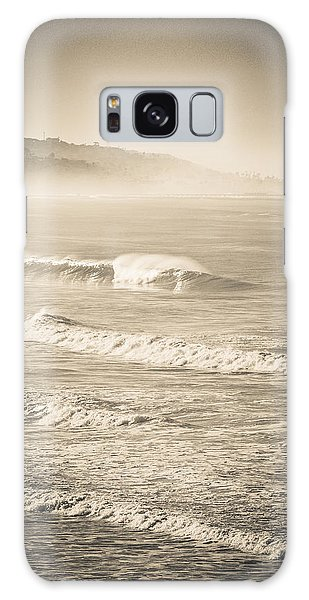 Lonely Winter Waves Galaxy Case