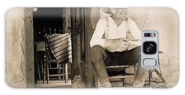 West Galaxy Case - Lonesome Dove Gus On Porch  by Peter Nowell