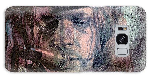 Folk Singer Galaxy Case - Lonesome Tears by Mal Bray