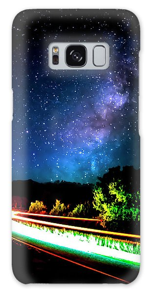 Galaxy Case featuring the photograph Lonesome Texas Highway by David Morefield