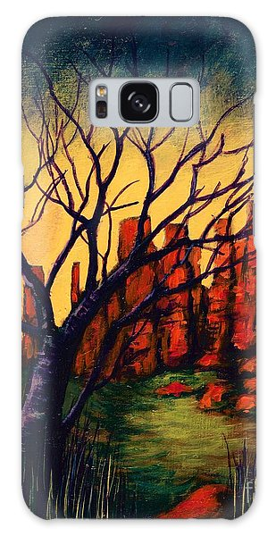 Lonesome Tree  Galaxy Case