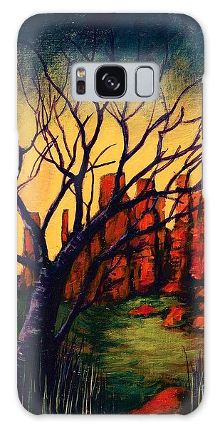Lonesome Tree  Galaxy Case