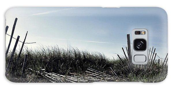 Long Beach Fence Galaxy Case by Joanne Brown