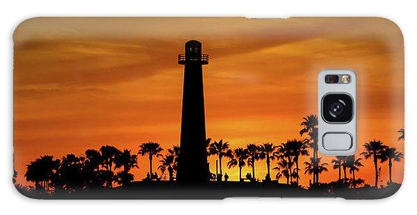 Long Beach Lighthouse Galaxy Case