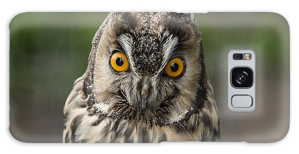 Long-eared Owl Galaxy Case by Martina Fagan