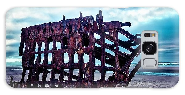 Peter Iredale Galaxy Case - Long Forgotten Shipwreck by Garry Gay