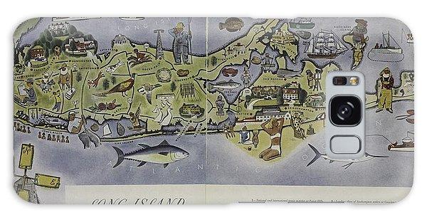 Long Island An Interpretive Cartograph Galaxy Case