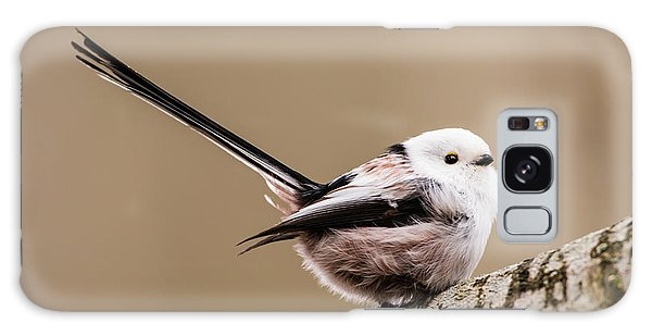 Long-tailed Tit Wag The Tail Galaxy Case by Torbjorn Swenelius