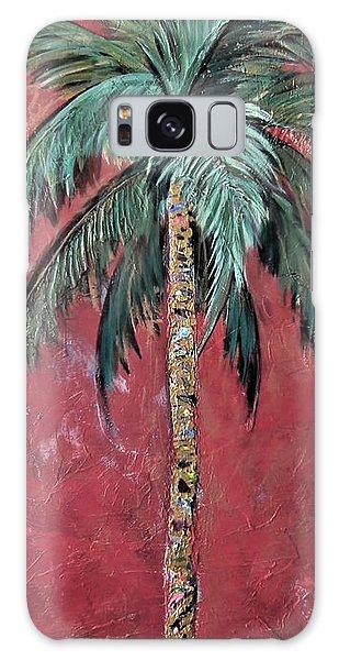 Longboat Key Palm Galaxy Case