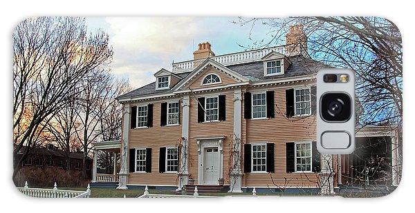 Longfellow House At Sunset Galaxy Case