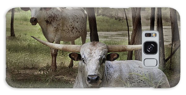 Longhorns On The Watch Galaxy Case
