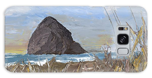 Longing For The Sounds Of Haystack Rock Galaxy Case