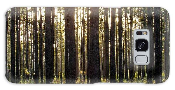 Longleaf Pine Forest Galaxy Case