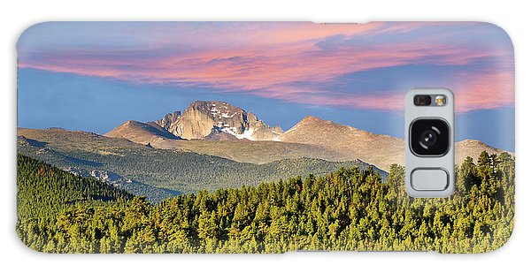 Longs Peak At Sunrise Galaxy Case