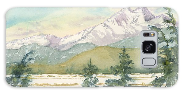 Long's Peak From Longmont Galaxy Case