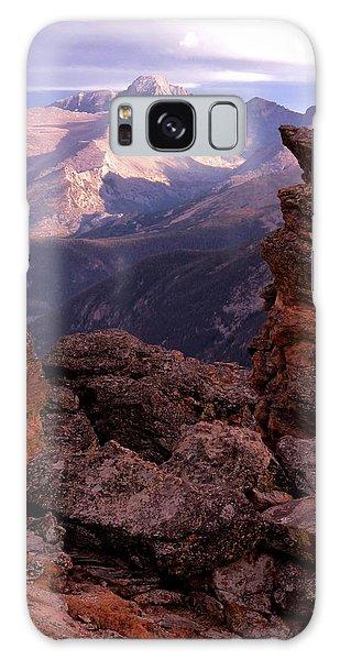 Longs Peak From Rock Cut  Galaxy Case