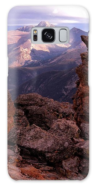 Longs Peak From Rock Cut  Galaxy Case