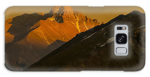 Long's Peak Galaxy Case by Gary Lengyel