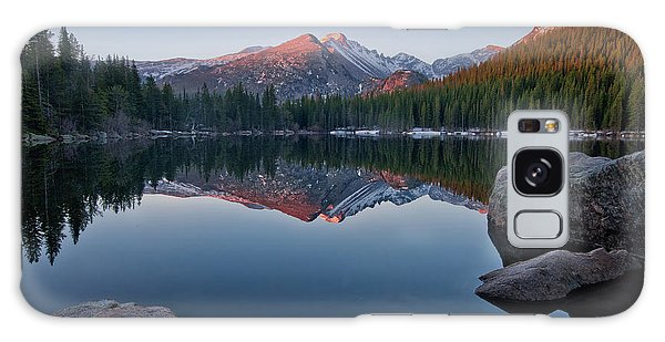 Longs Peak Reflection On Bear Lake Galaxy Case