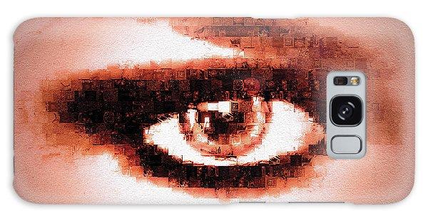 Look Into My Eye Galaxy Case
