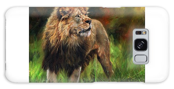 Look Of The Lion Galaxy Case by David Stribbling