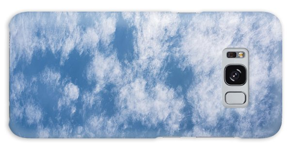 Look Up Not Down Clouds Galaxy Case by Terry DeLuco