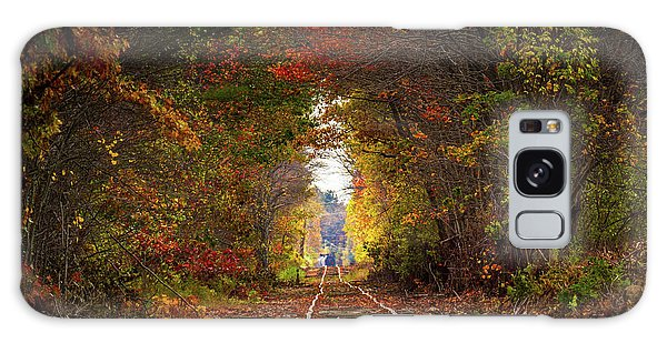 Looking Down The Tracks Galaxy Case