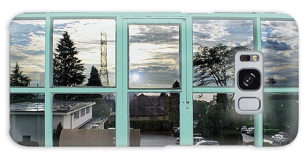 Galaxy Case featuring the photograph Looking Out The Window by Bill Thomson