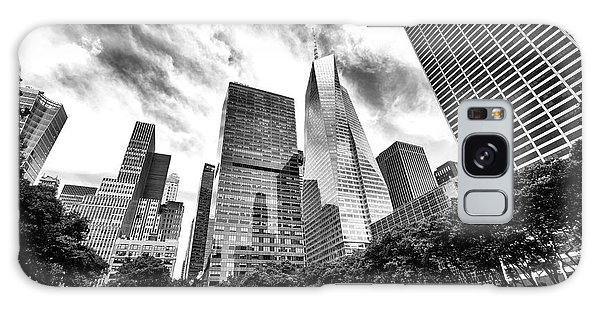 Looking Up In Bryant Park Galaxy Case by John Rizzuto