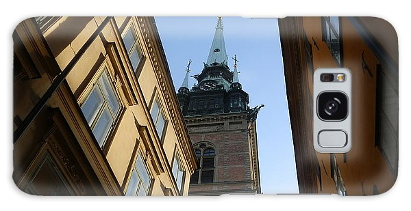 Looking Up From A Stockholm Street Galaxy Case