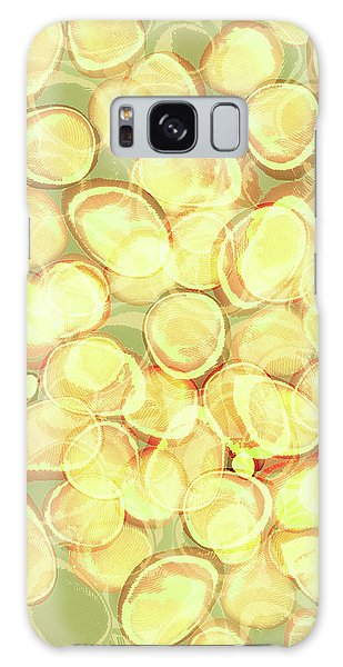 Loopy Dots #3 Galaxy Case
