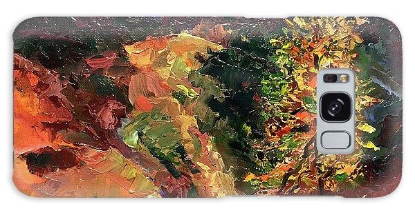 Loose Landscape Galaxy Case by Janet Garcia