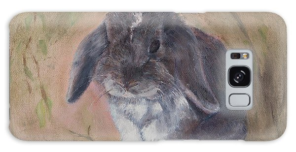 Lop Eared Rabbit- Socks Galaxy Case