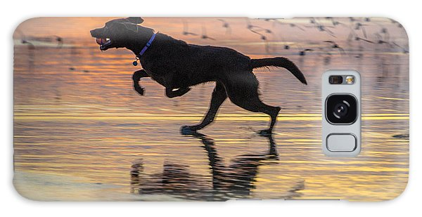 Loping Dog Galaxy Case by Jerry Cahill