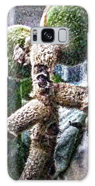 Loquat Man Photo Galaxy Case