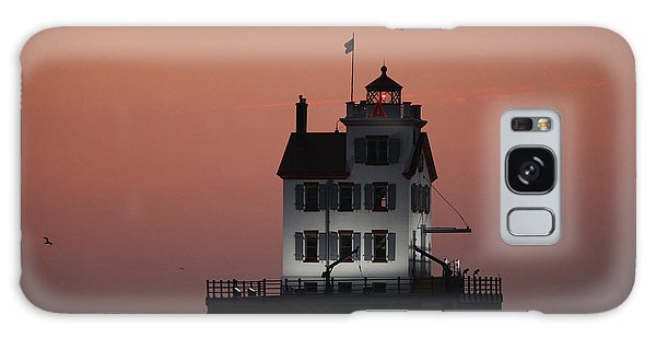 Lorain Lighthouse 1 Galaxy Case