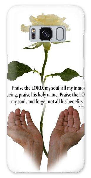 Lord, O My Soul Galaxy Case