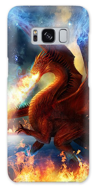 Dragon Galaxy S8 Case - Lord Of The Celestial Dragons by Philip Straub