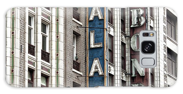 Los Angeles Downtown On Broadway Galaxy Case