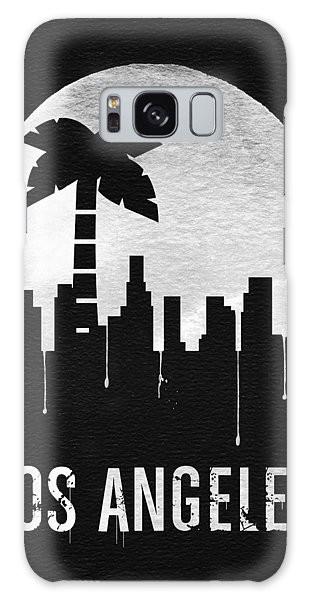Moon Galaxy Case - Los Angeles Landmark Black by Naxart Studio