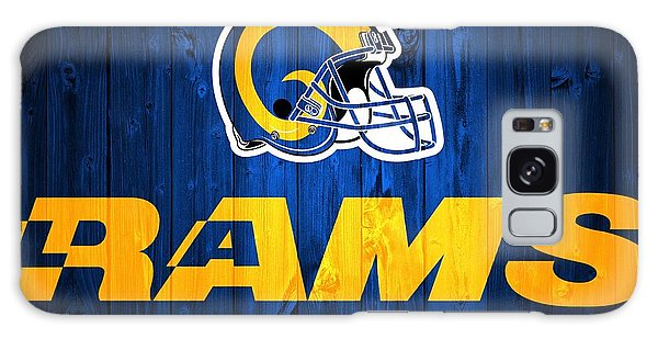 Los Angeles Rams Barn Door Galaxy Case