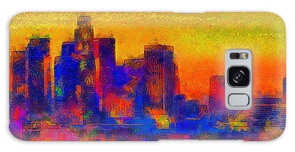 Los Angeles Skyline 100 - Pa Galaxy Case