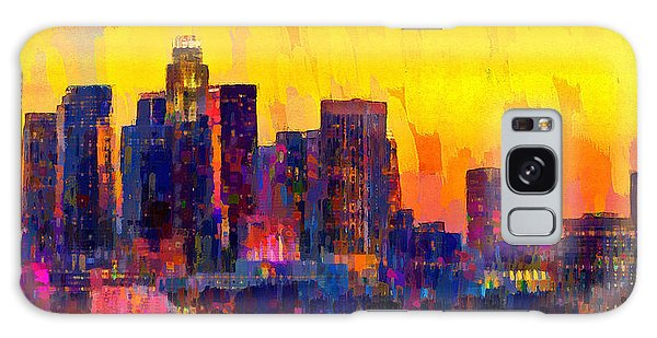Los Angeles Skyline 101 - Pa Galaxy Case