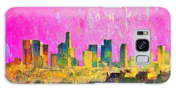 Los Angeles Skyline 8 - Pa Galaxy Case