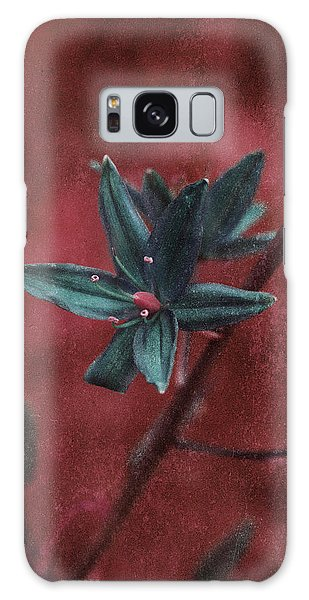 Lost Among Weeds Galaxy Case by Bonnie Bruno