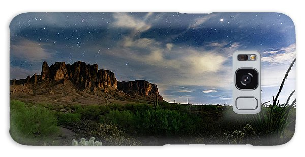 Galaxy Case featuring the photograph Lost Dutchman by Tassanee Angiolillo